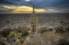 Montmartre Sacré Coeur by hebiflux, via Flickr