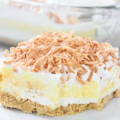 Coconut Cream Dreamboat Dessert | High Heels and Grills