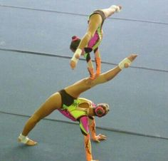Sports Acrobatics Womens Pair