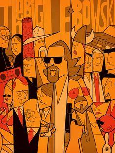 the big lebowski #Art #CelebrityArt