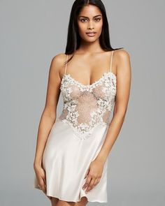 FLORA NIKROOZ Showstopper Chemise Champagne $99 LOWEST PRICE GUARANTEED NOT IN CALI TO BUY? WE SHIP FREE! OFFICIAL WEBSITE: www.pajammiesmalibu.com