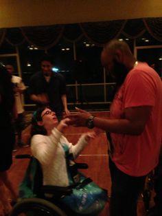 Networking Gala. Mariah and Kel