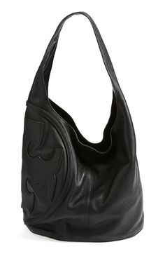 04e774d1c1a5 Free shipping and returns on Tory Burch  All T  Logo Leather Hobo at  Nordstrom