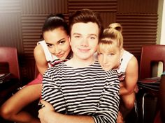 lovies.  Naya, Chris, & Heather.