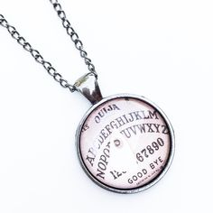"""• Ouija Necklace • Handmade Zinc alloy silver gun metal material. Lead and nickel free. 18"""" length chain.   •price firm unless bundled •no trades •10% off all bundles Jennifer's Chic Boutique  Jewelry Necklaces"""