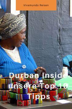 """Durban ist mehr als """"nur""""das Fußballstadion und kilometerlanger Strand. Finde unsere besten 10 Tipps für Durban in Südafrika in unserem Blog: Ausflüge, Märkte, Hotels und mehr Durban, Südafrika, durban südafrika, südafrika durban, durban ausflüge, durban urlaub, urlaub durban, durban afrika Top Ten, Strand, Hotels, Crochet Hats, Blog, Cape Town, Travel Advice, Football Soccer, Vacation"""