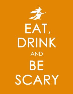 FREE Halloween Version of Keep Calm and Carry On Printable