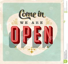 Vintage store sign Royalty Free Stock Photos