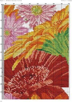 (2) Gallery.ru / Фото #2 - 162 - kento Cross Stitch Pillow, Cross Stitch Charts, Cross Stitch Designs, Cross Stitch Patterns, Folk Embroidery, Cross Stitch Embroidery, Embroidery Patterns, Stitch Magazine, Cross Stitch Landscape
