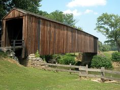 Bollinger Mill's Covered Bridge by Cape Girardeau Convention and Visitors Bureau, via Flickr