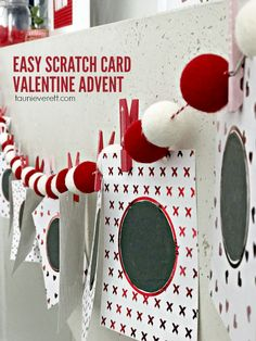 Looking for a fun way to celebrate Valentine's Day this year? Don't miss this super-fun, scratch card Valentine Advent Calendar. This project is sponsored by Acorn on behalf of Sam's Club and DuckMax Packaging Tape.