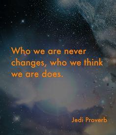 Jedi proverb
