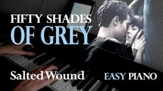 50 Shades of Grey - Salted Wound (Piano Cover | Sheet Music | Partituras)