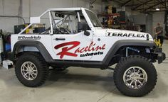 Raceline wheels Racing Jeep, off road racing, 4x4 racing