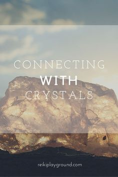 Connecting with crystals! You have your crystals now it's time to connect, but where do you start? I have 8 simple ways for connecting with crystals for you to try! Enjoy!