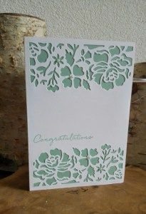 Stampin up, floral phrases, detailed floral thinlits dies, card, box, mint macaron, congratulations, kaart