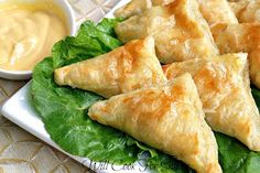 Honey Dijon Chicken Pockets with Creamy Honey Mustard Dip #anythingdressing - Will Cook For Smiles