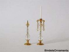 Set of two Swarovski candlesticks with pendants - Page 3