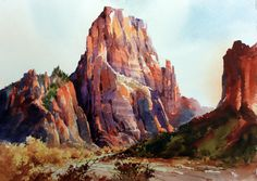 Carl Purcell   WATERCOLOR...I wish I could do this....Joy....teach me ..PLEASE!!