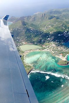 The 3-Day Cheat Sheet To St. Bart's #refinery29  http://www.refinery29.com/st-barts-guide#slide1  Getting to St. Bart's is painless if you're coming from NYC. Just hop a flight to San Juan on JetBlue, then transfer for a quickie trip on Tradewind Aviation. The blue-green view from our teeny plane — first sign we're off to a good start.