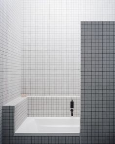 Minimalistic bathroom design