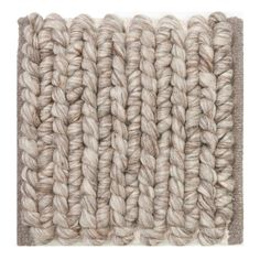 Links Giant Knit Wool Rug - Ivory or Silver - Vavoom Emporium