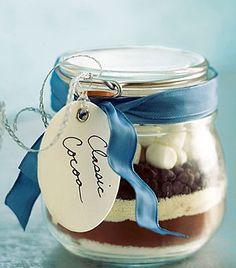 Classic Cocoa / Hot Chocolate #recipe #gift #jar
