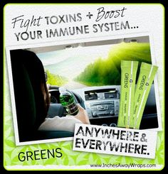 It Works GREENS is a superfood packed powder that gives you 8+ servings of fruits and vegetables. Alkalize and energize your body!