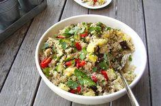 8. Grilled Veggie Quinoa Salad