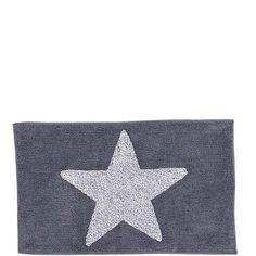 SKYWALKER Badematte grau 60 x 100 cm - Matten & Handtücher