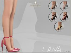 Sims 4 CC's - The Best: Madlen Lana Shoes by MJ95