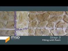 Stone interior wall, faux msd stone panels, wall paneling.
