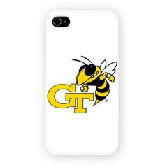 Georgia Tech Yellow iPhone 4/4S and iPhone 5 Cases