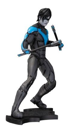 DC Collectibles Batman Arkham City Nightwing Statue >>> You can find more details by visiting the image link.