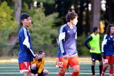 Team America 96 (TAFC96) vs BFC Barca 96 Elite (NCSL U18/U19 Division 1, October 5, 2014) - Haruto Kato #4, Anthony Nauls #12