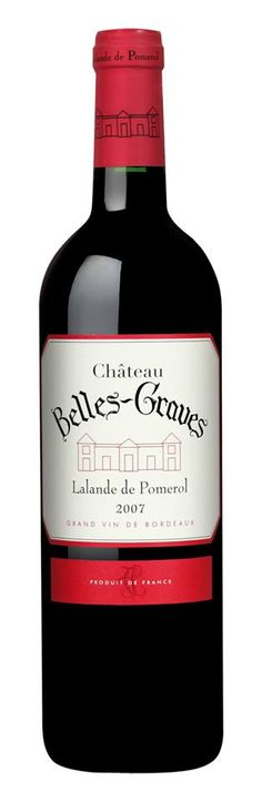#Wine of the day // #Vin du jour: Château Belles-Graves 2007 – Lalande de Pomerol (15/20) http://vertdevin.com/vin/chateau-belles-graves-2007-lalande-de-pomerol-3/