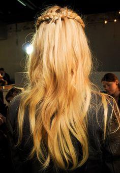 #Peinados con trenzas para pelo largo. Las 50 #trenzas que adoramos de Pinterest #peinados #pelo #belleza