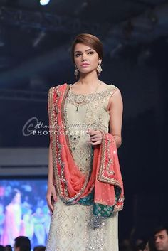 Asifa & Nabeel Bridal Wear Collection at BCW 2013, Pakistani couture