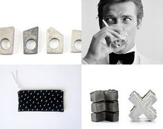 pop 13 by Tomer Matityahu on Etsy featuring concrete jewelry - geometric minimalist concrete ring by shooohsJewelry