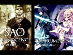 Sword Art Online Opening 2 - Innocence (Guitar Instrumental) - YouTube