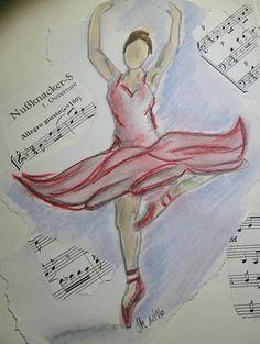 Ballerina - Kreide