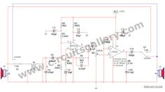 Simple Two Way Communication Intercom Circuit Schematic diagram - Circuits Gallery