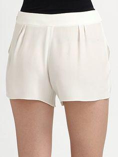 Chloé  Silk Shorts