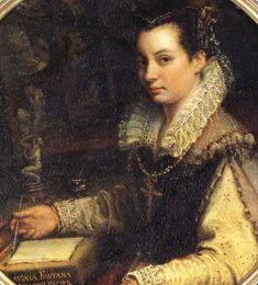Lavinia Fontana (1552-1614) Self Portrait