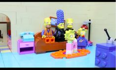 A Fan-Made Opening Sequence For 'The Simpsons' Created Using LEGO Bricks - DesignTAXI.com