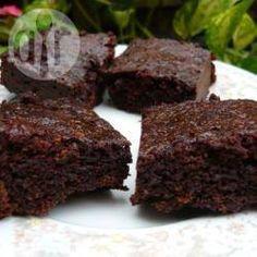 Brownies fáciles al microondas @ allrecipes.com.ar