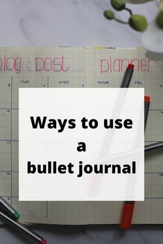 Everyone is using a bullet journal. Are you a newbie to the bujo world and looking for some easy ways you can use your bullet journal? Click to read our top 5 ways we love using our bujo 5 Ways, Bujo, Bullet Journal, Reading, Easy, Tips, Word Reading, Reading Books, Libros