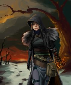 Lady Hawke  / Oooh, I like this... Especially the glove - Hair / Character / Bag / Belt / Gloves / Coat