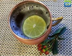 The Classic #MoscowMule Cocktail | Serve up this festive drink in this beautiful classic Buxxu #CopperMug and garnish with fresh cranberries and lime. The mug makes a wonderful holiday gift for the #cocktail lover!