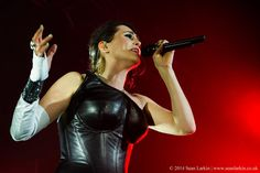 Photo from the excellent Within Temptation gig at the O2 Academy, Birmingham.